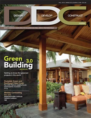 Golden Triangle Construction featured in the Fall 2010 issue of DDC Journal