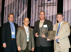 American Concrete Pavement Association Presents Distinguished Service and Recognition Awards