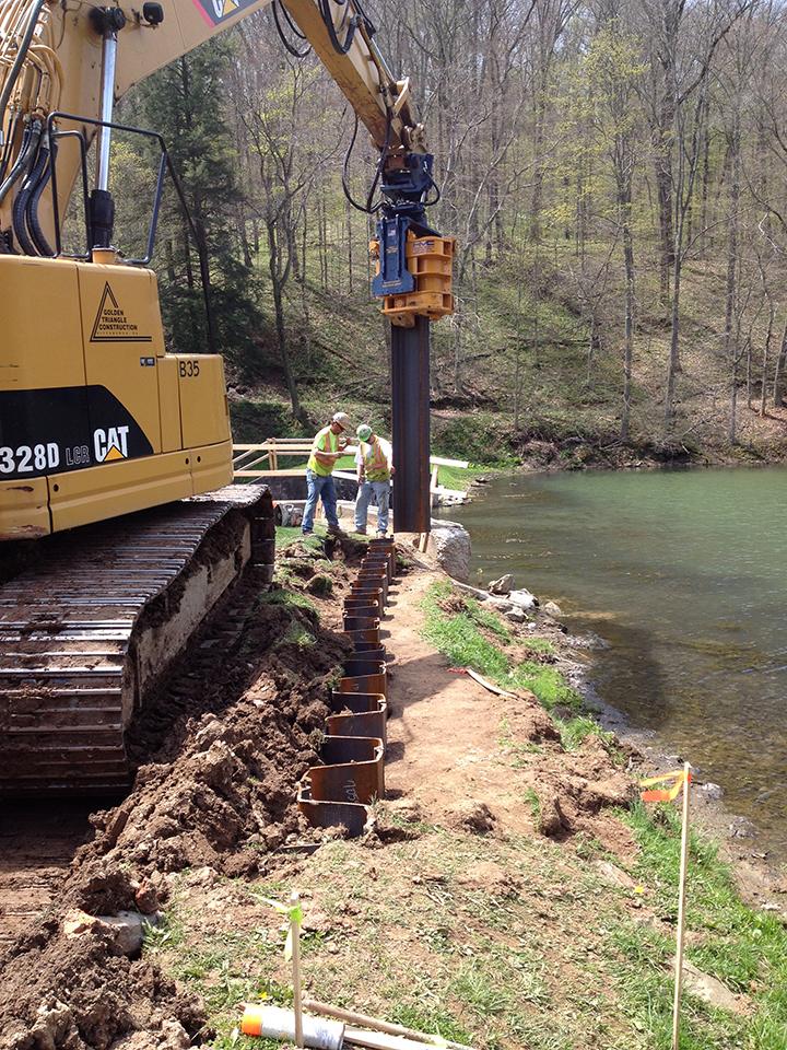Jefferson Lake Dam Improvements