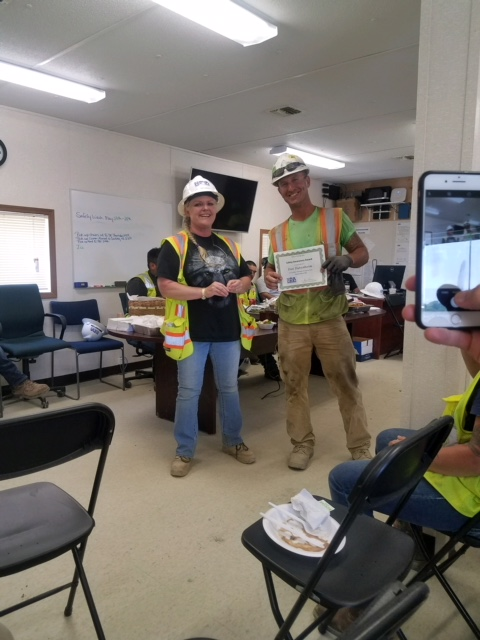 Golden Triangle Superintendent receives Safety Awareness Award