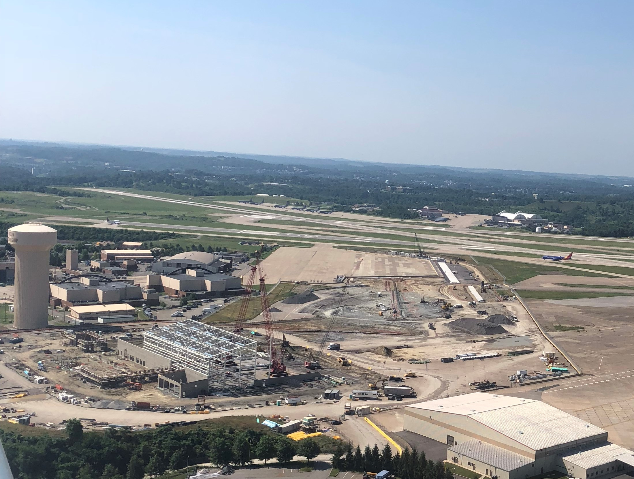 Bird's Eye View of 911th Air Reserve Base Project