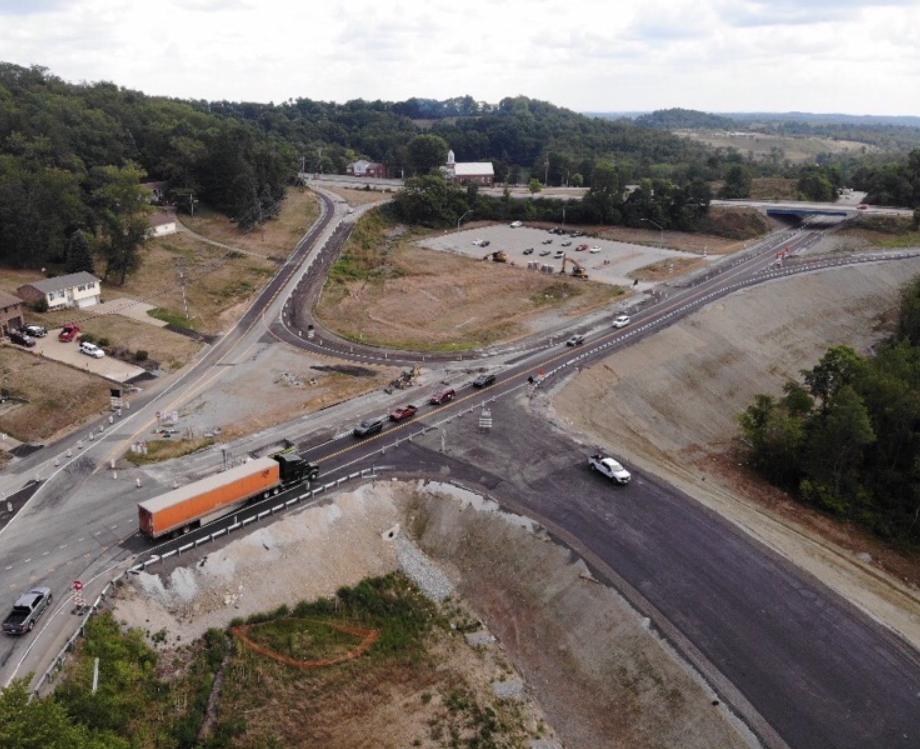 SR 519 at SR 980 and I-79